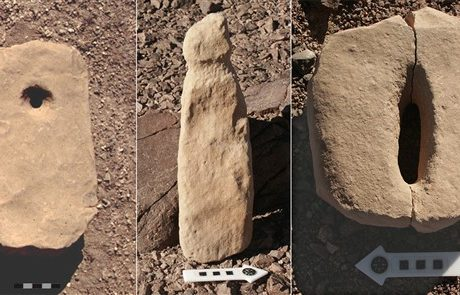 Neolithic Cult sites in the Eilat Mountains, Israel.