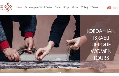 A new website of Jordanian and Israeli Arava women