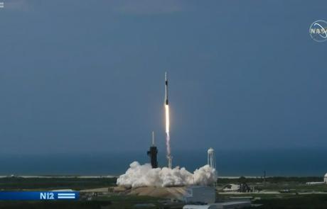 שיגור חללית של ספייסאיקס לתחנת החלל הבינלאומית