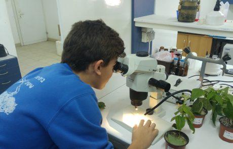 מהמיקרוסקופ לטלסקופ- פרויקט משותף לחממת הערבה ומכון דוידסון